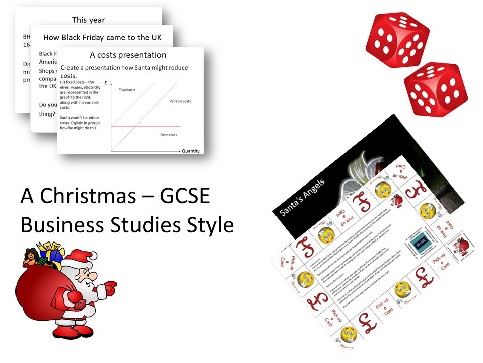 A Christmas, GCSE Business Studies style