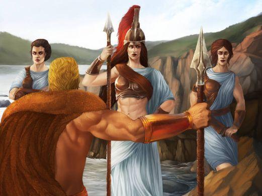 Persuasive writing Hercules 9th labour Hippolyte's belt