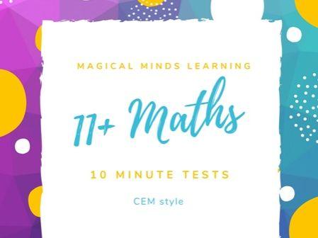 11 plus maths tests (CEM)