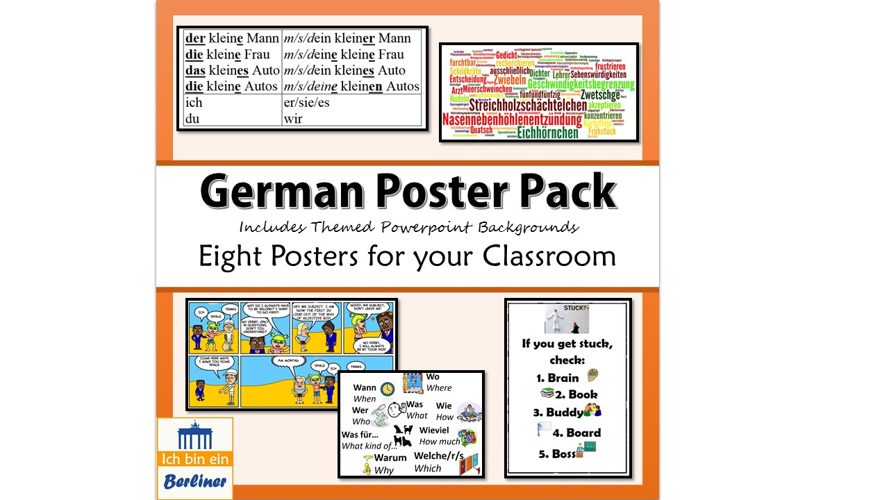 German Poster Starter Pack