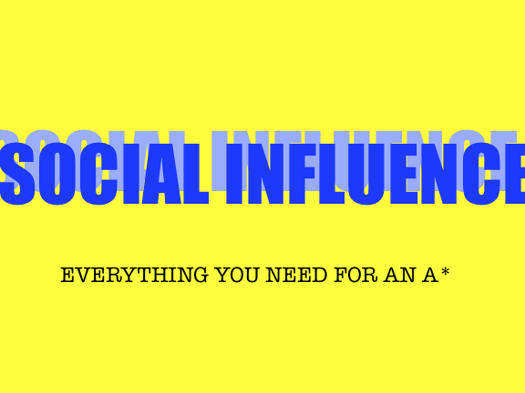 Social Influence- AQA A level Psychology
