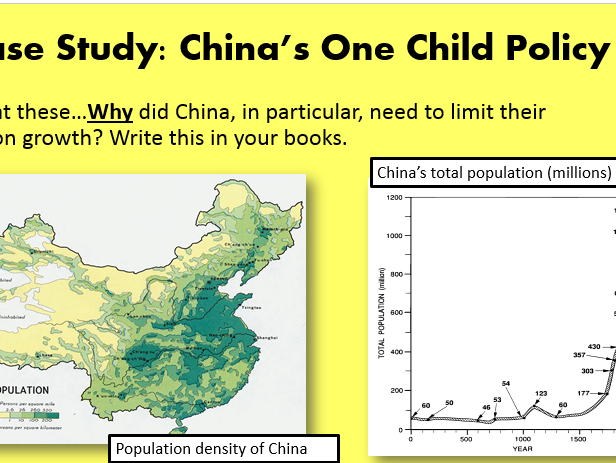 Population Control - China's One Child Policy