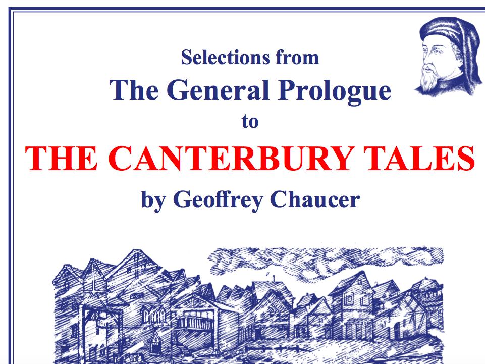Chaucer Canterbury Tales Scheme of Work Sample Pages