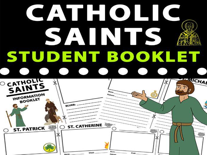 Catholic Saints Student Research Booklet
