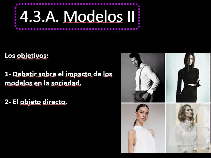 Los Modelos Part II