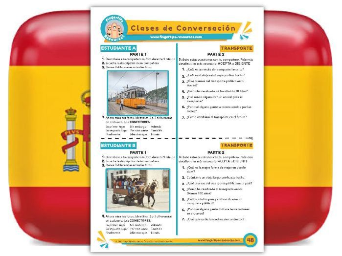 Transporte - Spanish Speaking Activity