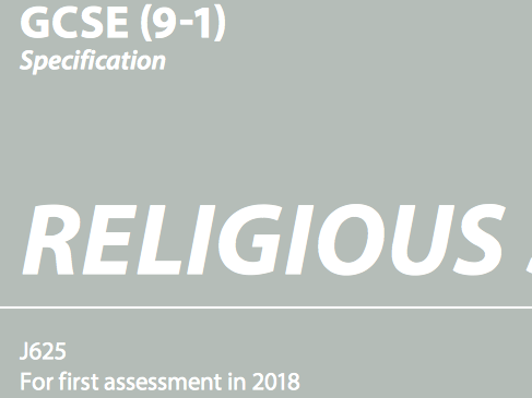 OCR GCSE (9-1) Religious Studies Practices: Sacraments