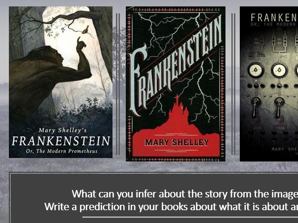 Frankenstein Context: Three Lesson Bundle