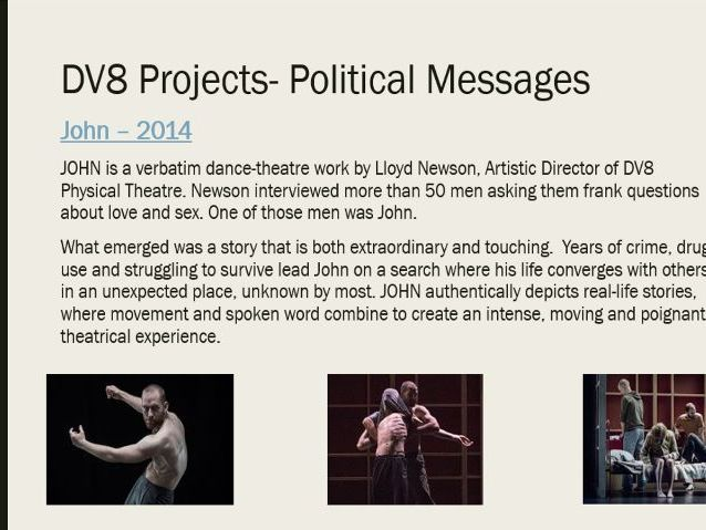 Practitioners- Introduction to DV8