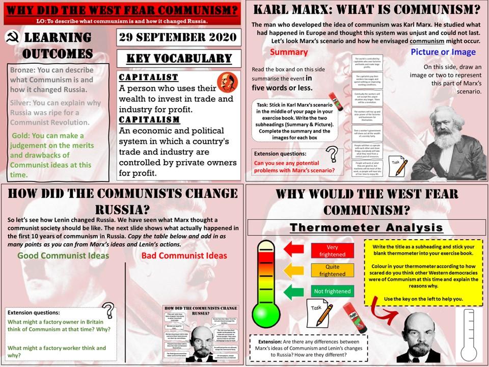 Communism: How Did The Communists Change Russia?