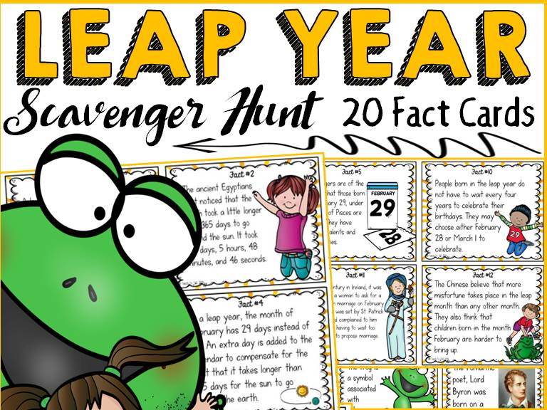 LEAP YEAR SCAVENGER HUNT