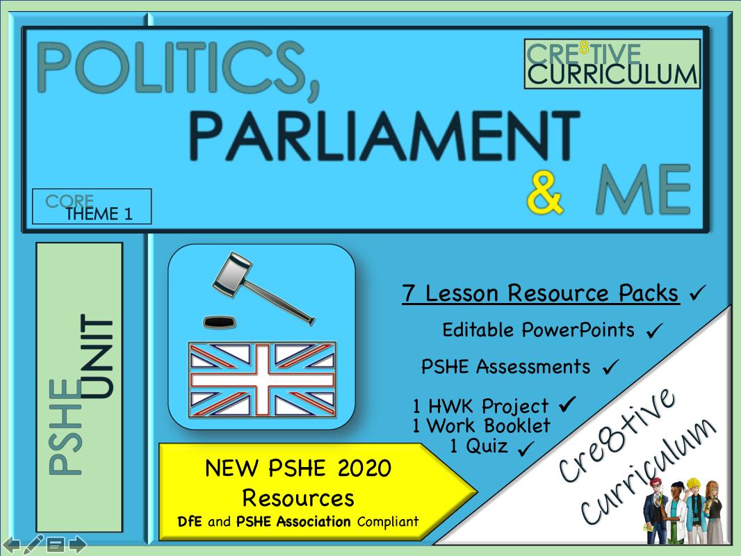 Politics, Parliament + General Elections Unit