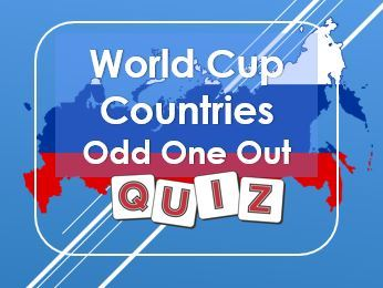 World Cup: Russia 2018: Odd One Out Quiz