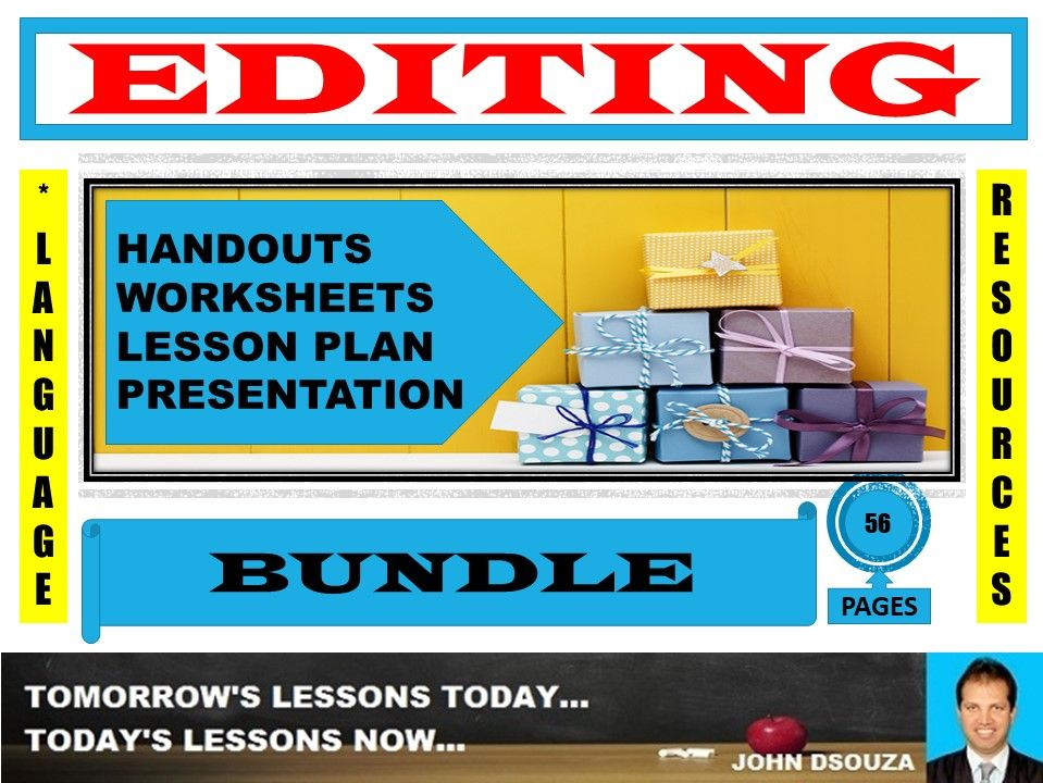 EDITING AND REWRITING BUNDLE