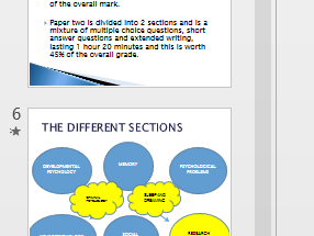 Psychology GCSE Edexcel 1 - 9 introductory PP lesson to the course and specification