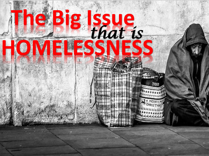 Homelessness 'The Big Issue' - ASSEMBLY