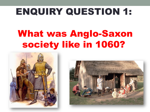 Anglo-Saxon and Norman England Edexcel 9-1 Lessons Part 1