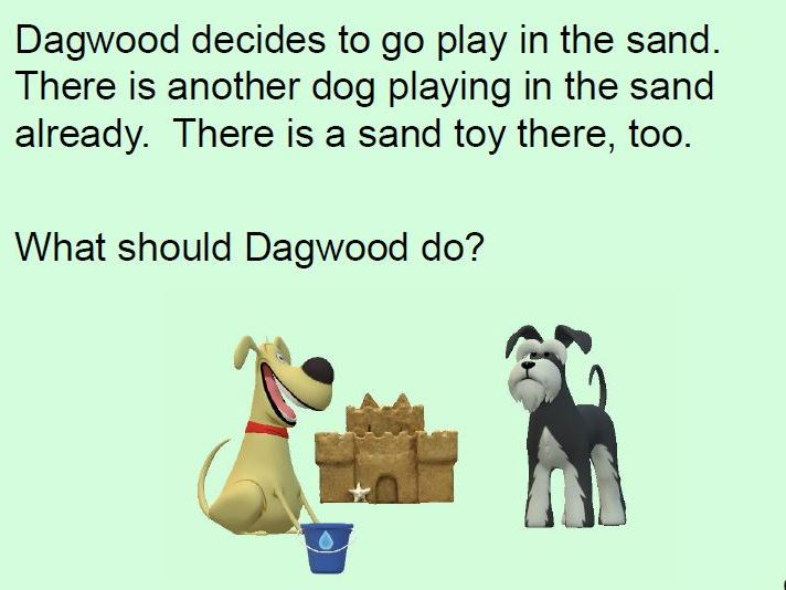 Dagwood the Dog Makes Friends: An Interactive Social Skills Story