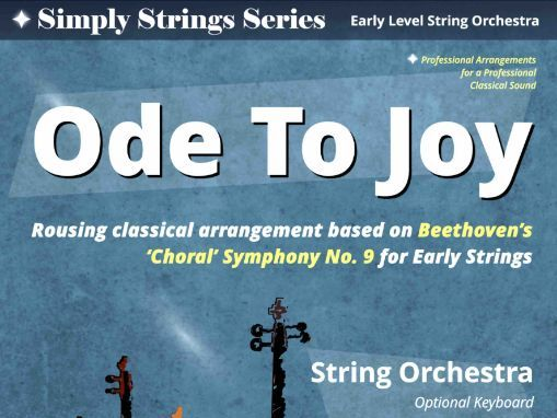 Ode To Joy -  (Simply Strings Easy Arrangment Score & Parts)