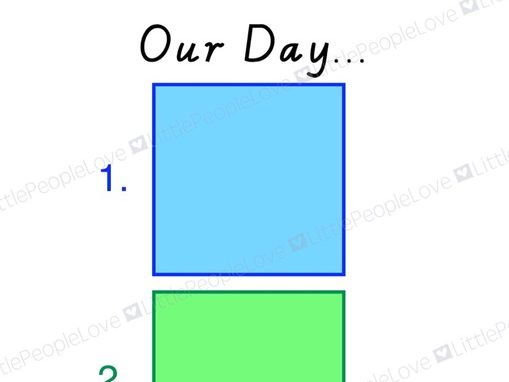 Our Day Visual Timetable