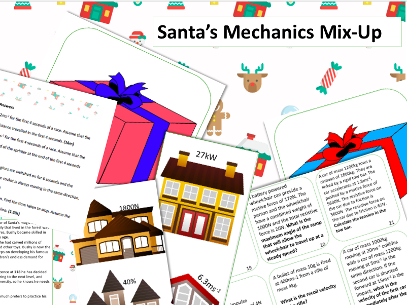 Santa's Mechanics Mix-Up