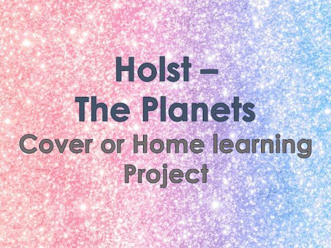 The Planets - Homelearning/Cover