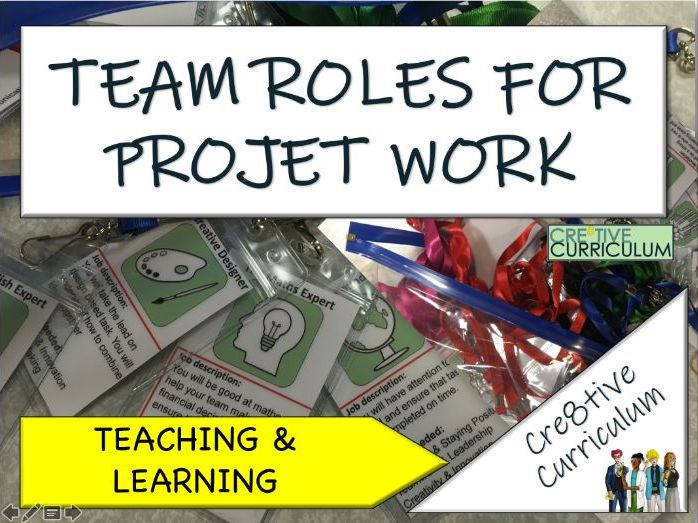 Team Roles for Project Work