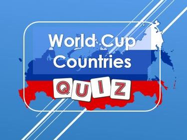 World Cup: Russia 2018: Countries Quiz
