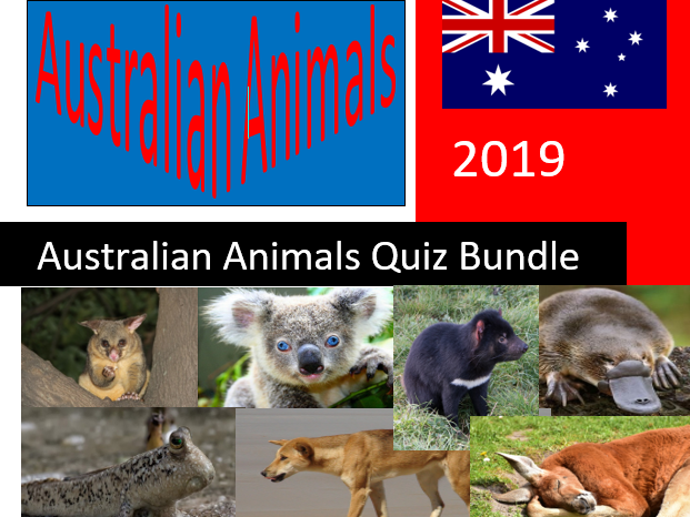 Science: Living things and their Habitats: Australian Animals