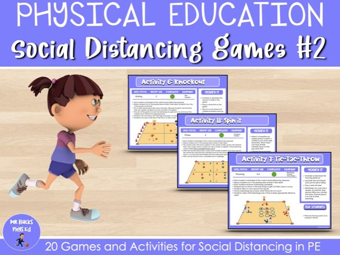 Physical Education - Social Distancing Games 2