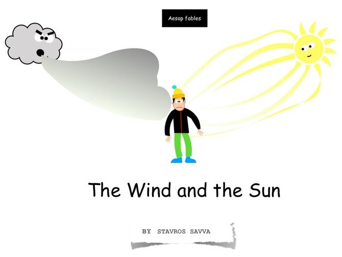 The Wind and the Sun (Talk for Writing)