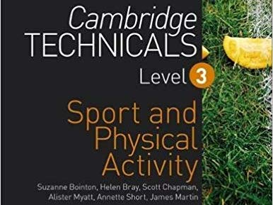 Cambridge Technicals Level 3 Business in Sport - Whole course