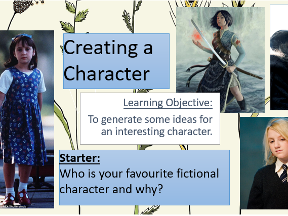 Creative Writing Set of Lessons