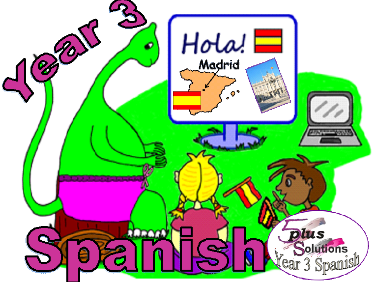 Primary Spanish LEARNING MATS:Year 3 Spanish