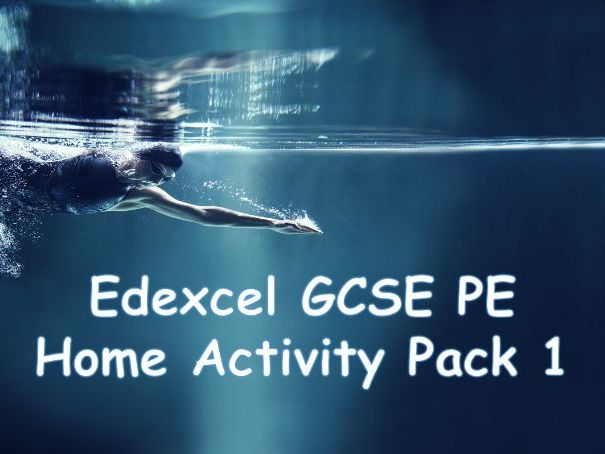 GCSE PE - Home activity booklet 1