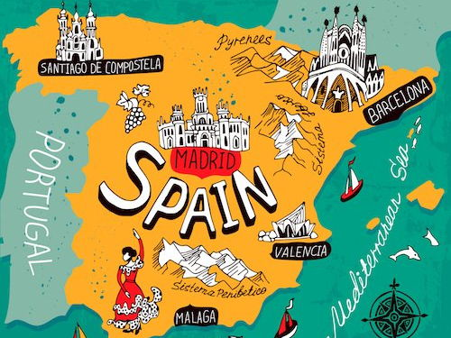 Introduction to Spanish, greetings, history of the Spanish language and a song!  With lesson plan.