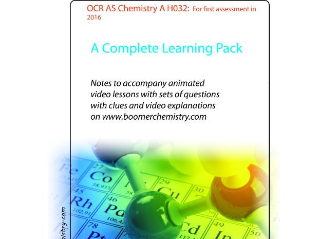Notes for OCR AS Chemistry A