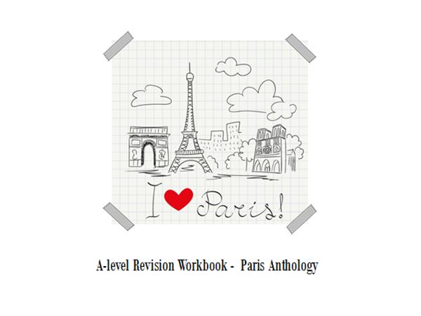 AQA English Language and Literature Paris Anthology Revision Workbook (A Level)