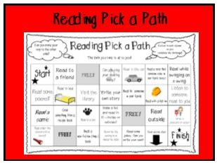 Reading Pick a Path