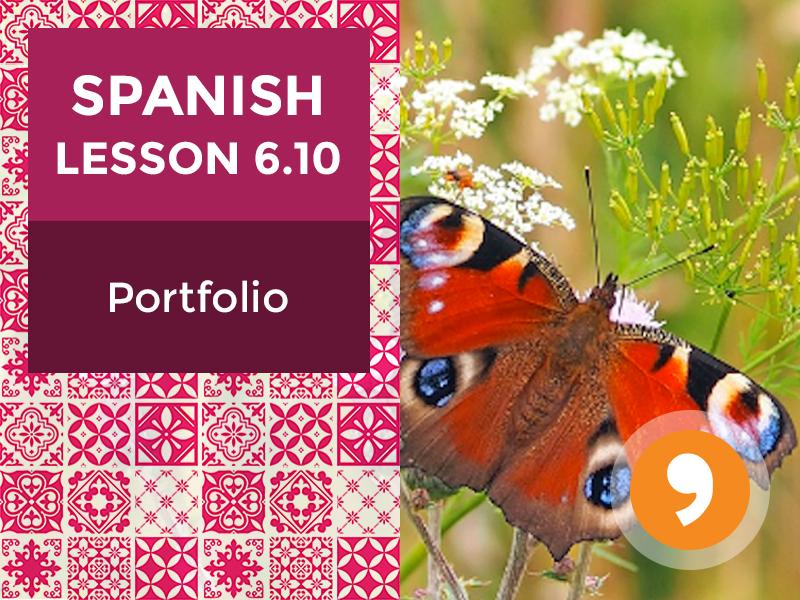 Spanish Lesson 6.10: Costa Rica - Portfolio