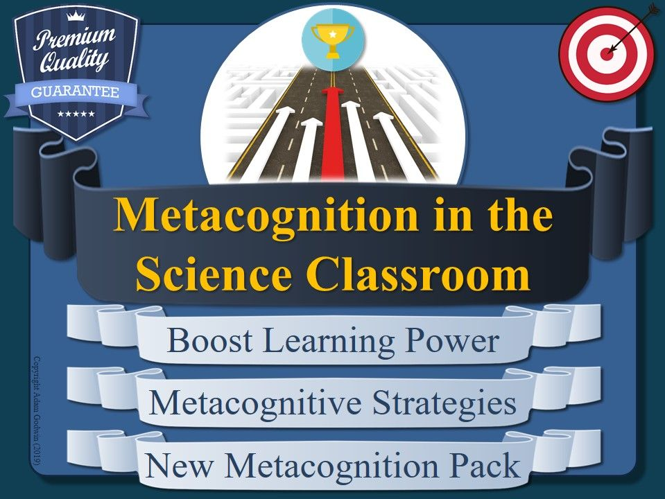 Metacognition Pack (Science)