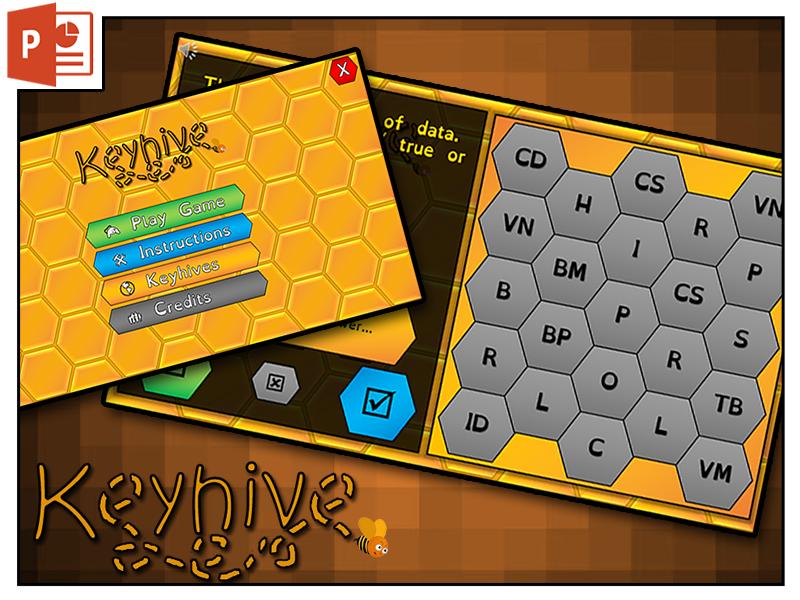 Keyhive: Keyword Memory Game
