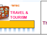 Btec Travel & Tourism: Level 3 Unit 2 Assignment & Preparation