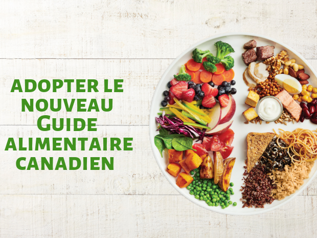 Le guide alimentaire canadien - healthy lifestyle