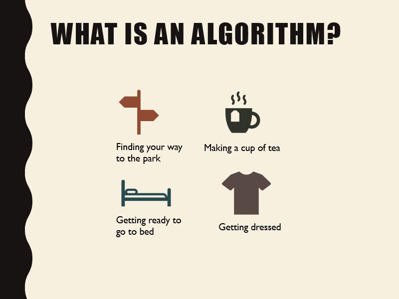 KS1 - Algorithms Introduction and Worksheet