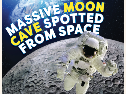 KS2 News Comprehension: Fossils and the moon