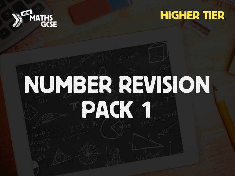 Number Revision Pack 1 (Higher Tier)