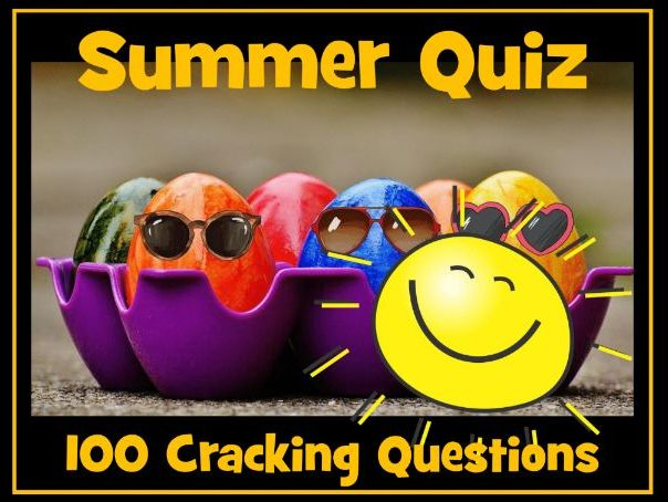 End of School Year Quiz 2020