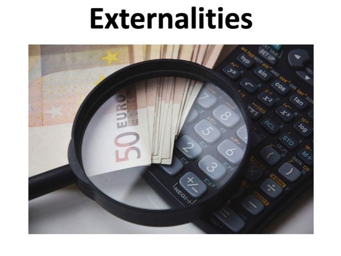A level Economics - Externalities