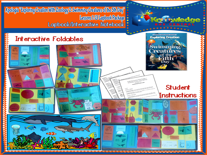 Apologia Exploring Creation with Zoology 2: Swimming Creatures of the 5th Day
